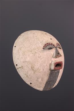 African art - Large Luba Kifwebe mask