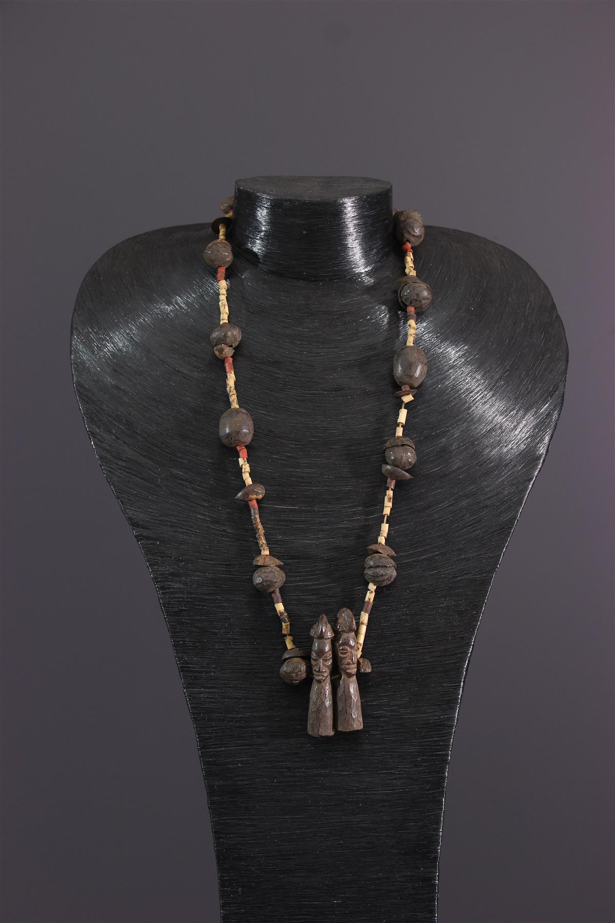 Yaka necklace - African art