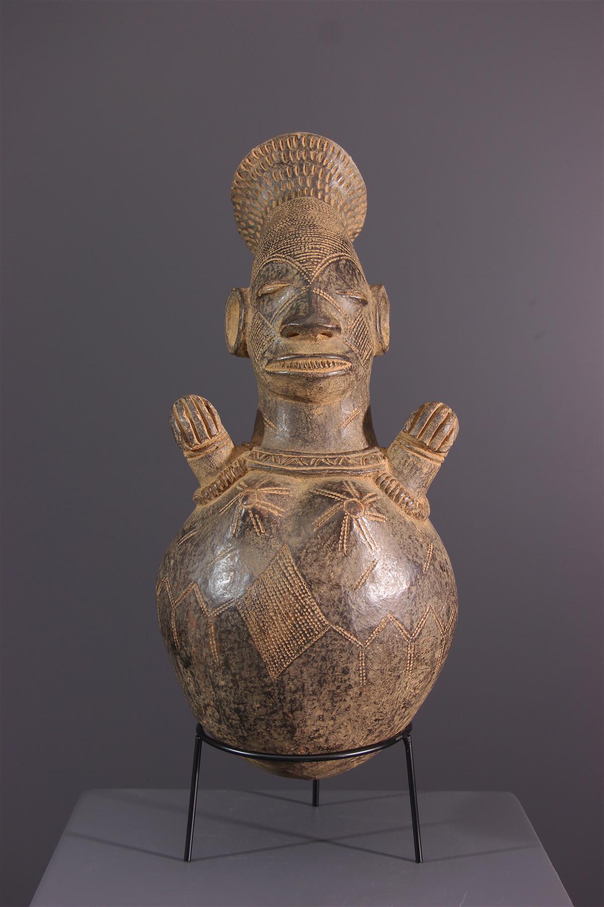 Jarre Mangbetu - African art