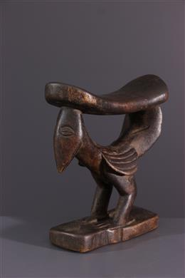 African art - Yaka Musaw neck support