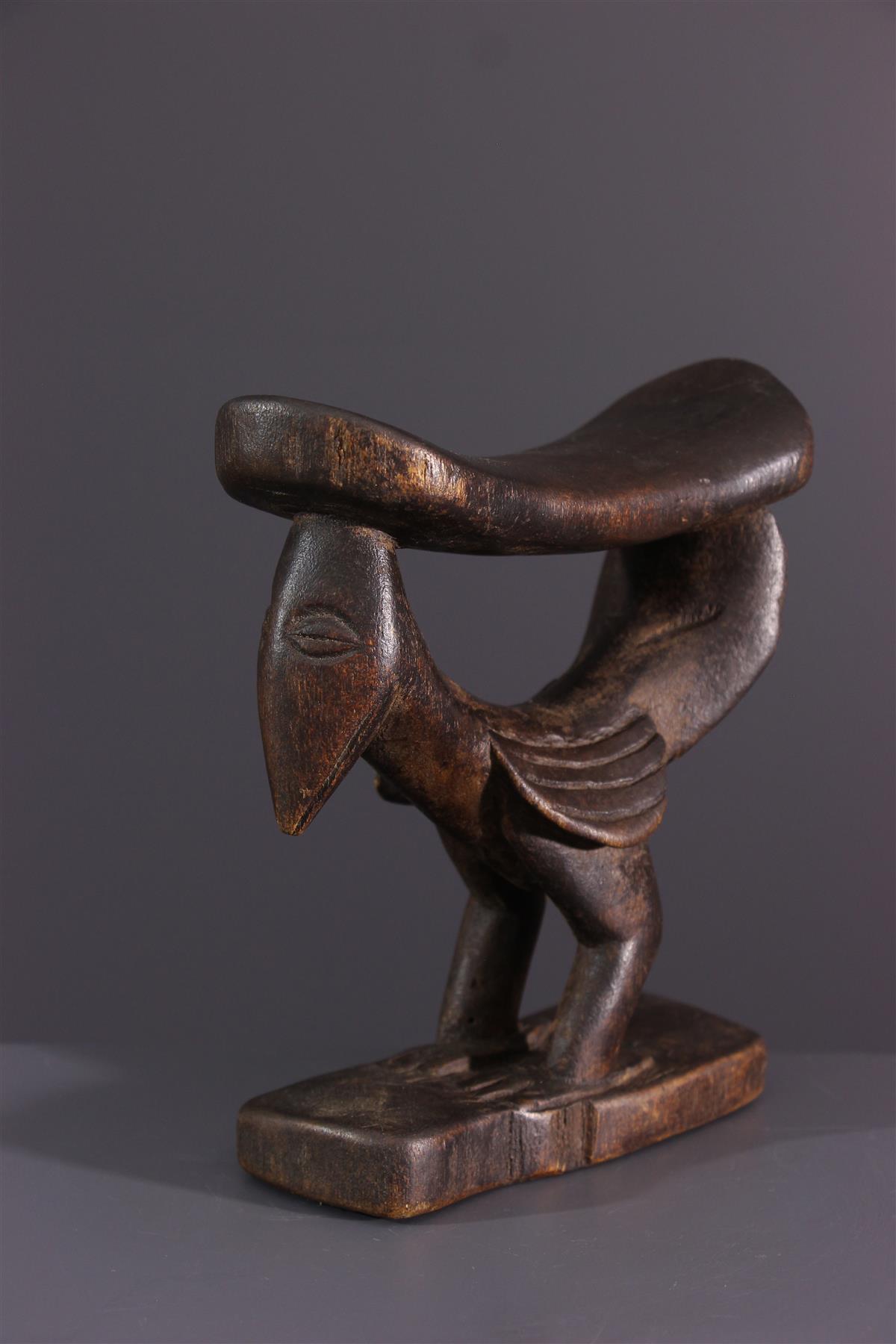 Yaka neck support - African art