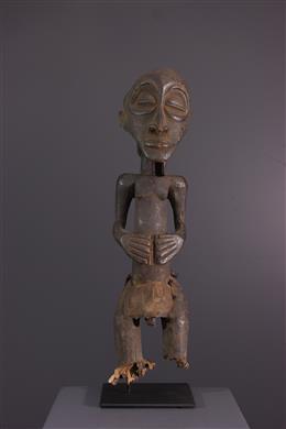 African art - Ancestor figure Hemba/ Luba Singiti