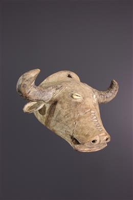 African art - Small Tabwa Buffalo Mask