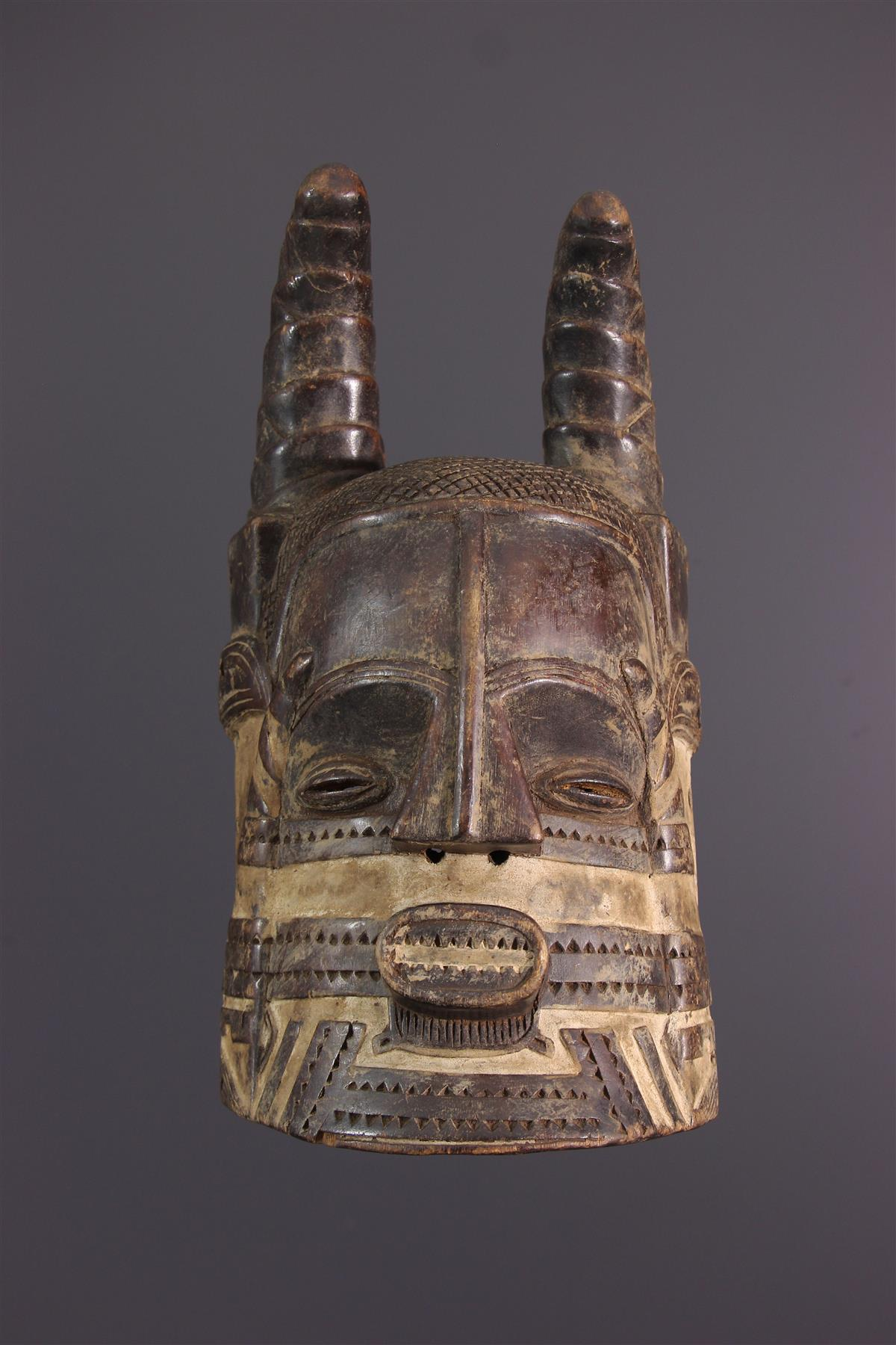 Bushoong Mask - African art