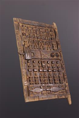 African art - Dogon shutter door
