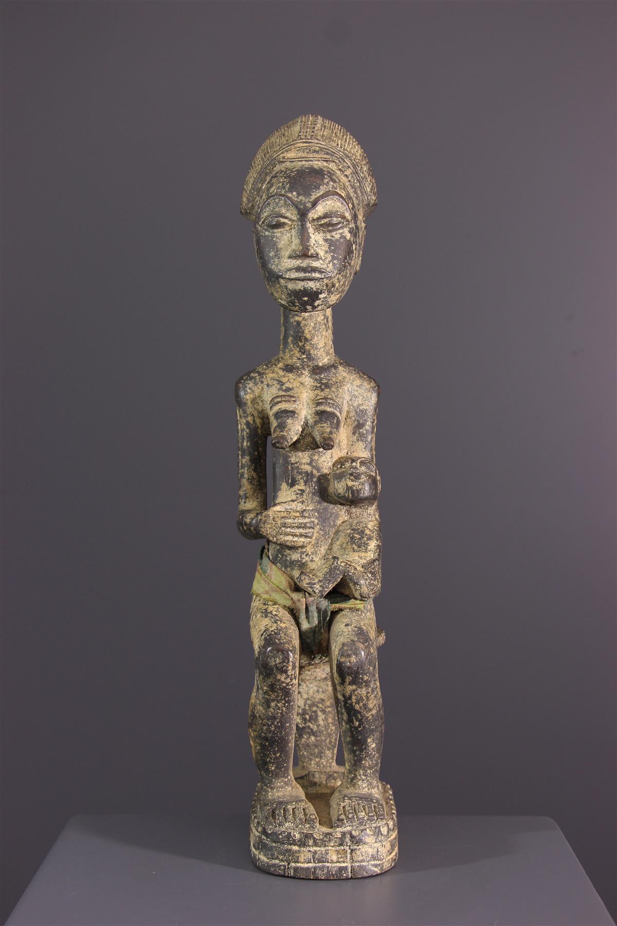 Statue Baoulé - African art