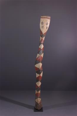African art - Baga Bansonyi Snake Mask