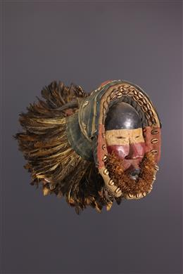 African art - Great Dan Tankaglé Mask