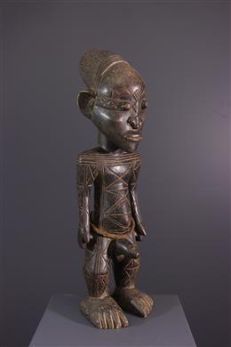 African art - Ancestor figure Mangbetu Nebeli
