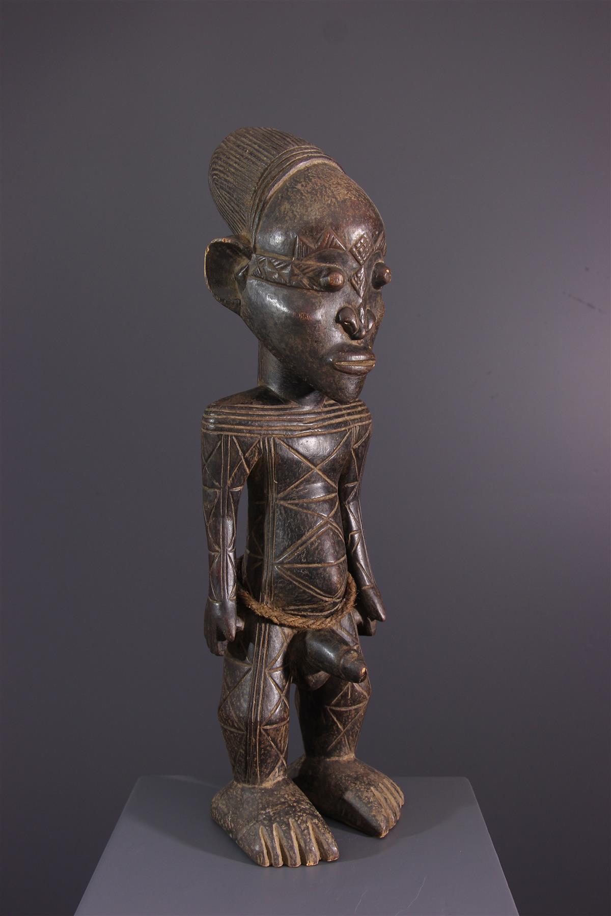 Mangbetu Statue - African art