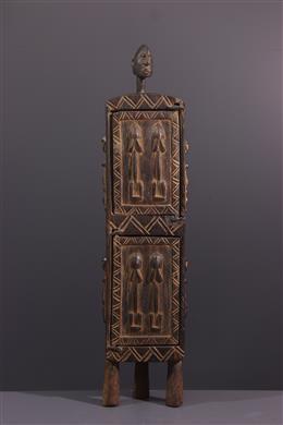 African art - Dogon pharmacopoeia box