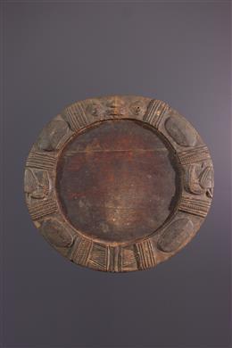 African art - Plateau de divination Opon Ifa Yoruba