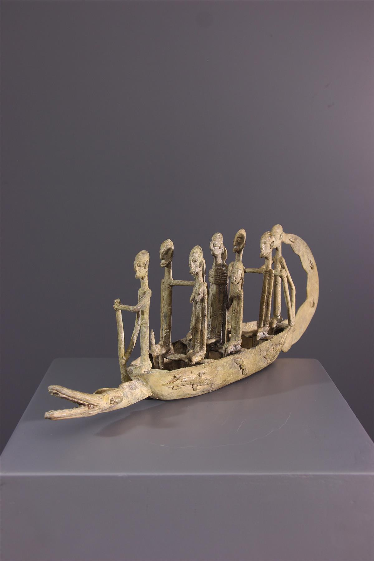 Pirogue Dogon - African art