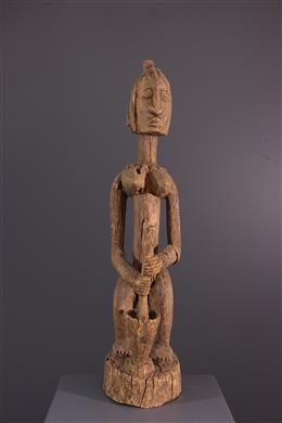 African art - Piley statue of millet Dogon Tintam