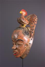 Masque africainGouro Mask