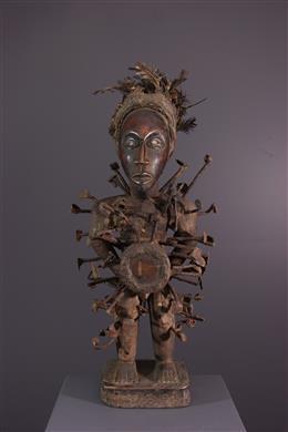 African art - Statue congo Vili Nkisi Nkondi