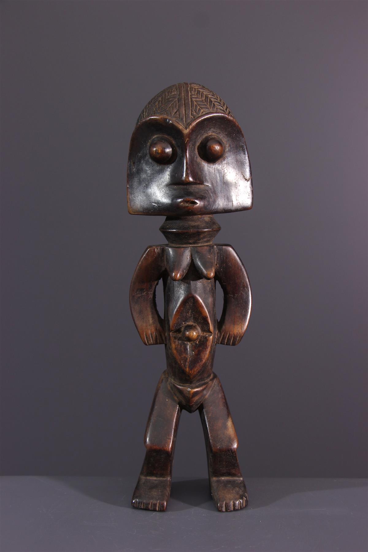 Statuette Ubangi - African art