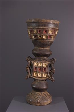 African art - Tobacco Pot  Chokwe