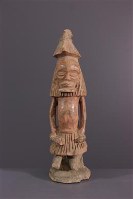 African art - Statuette Chokwe Kaponya ca Cihongo wa cipaka
