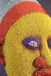 Statues africainesBeaded head