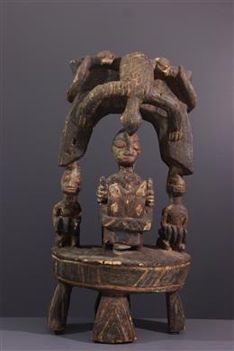Altar with rider Yoruba