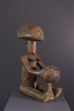African art - Luba Cup Carrier