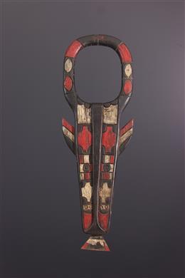 Douala Nyatti polychrome mask