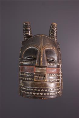 African art - Masque Kuba Bushoong Nibita
