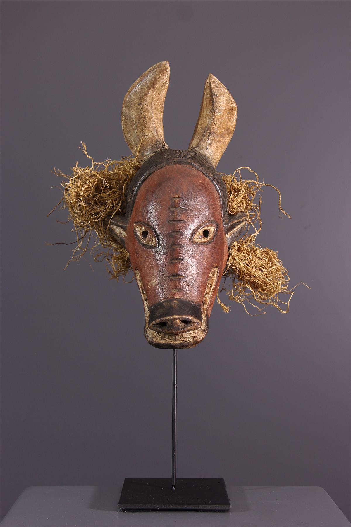 Tshokwe Mask - African art
