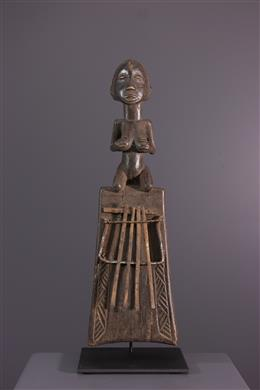 African art - Sanza figurative Luba / Zela