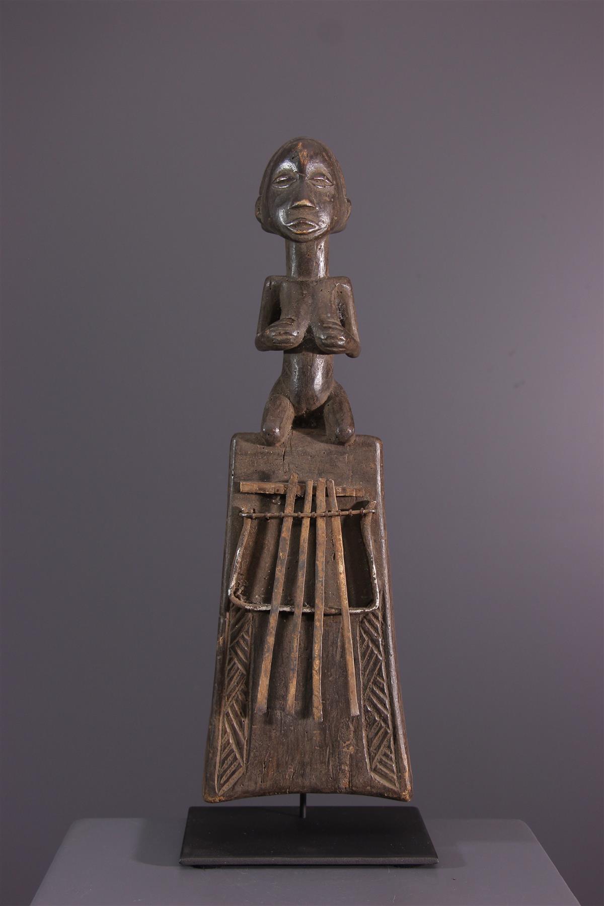 Lamellophone Luba - African art