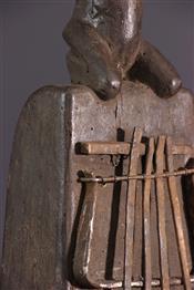 Instruments de musique, harpes, djembe Tam TamLamellophone Luba