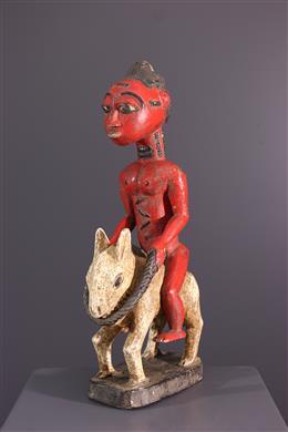 African art - Baoule rider figure