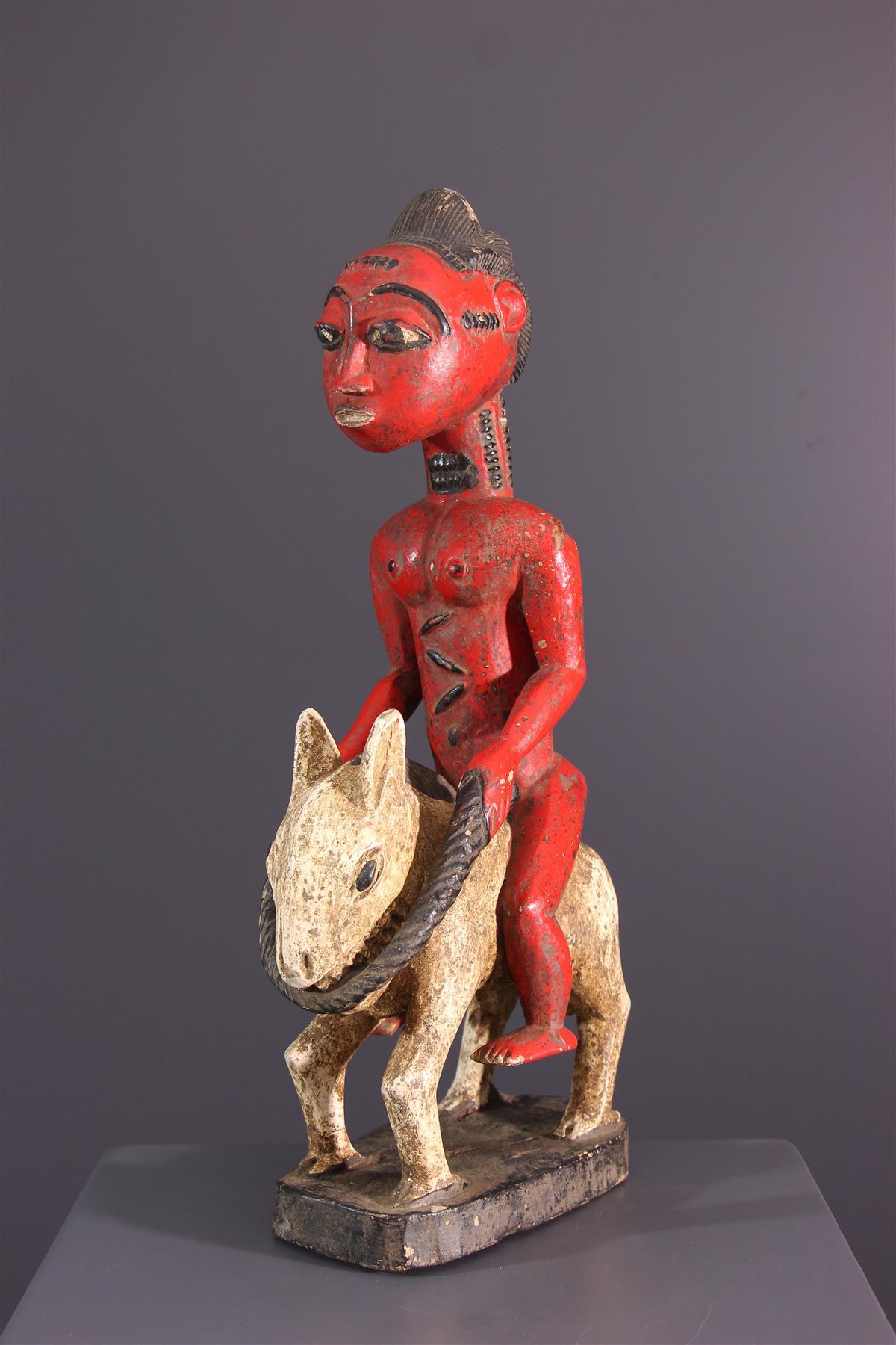 Cavalier Baule - African art