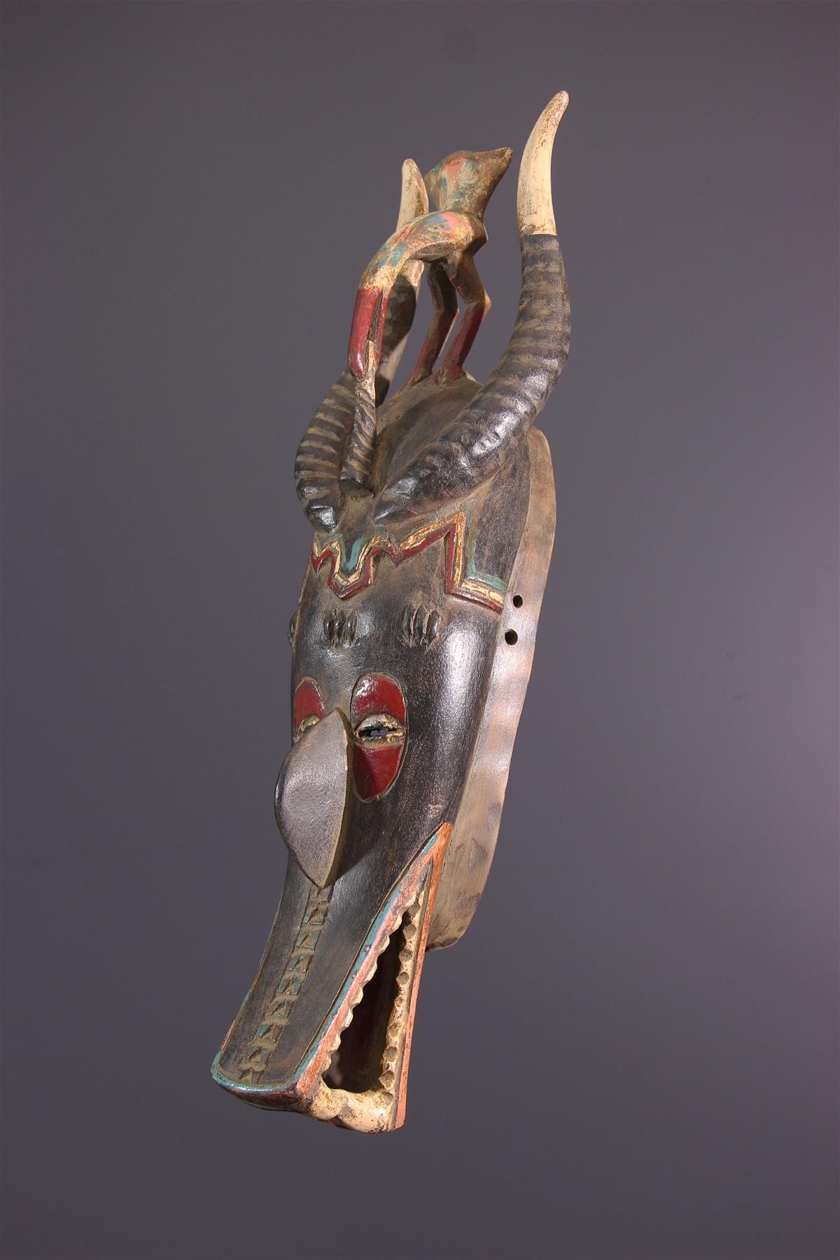 Zamblé Mask - African art