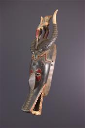 Masque africainZamblé Mask