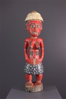 African art - Female figure Baoule Waka sona