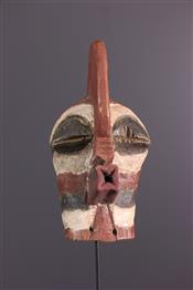 Masque africainMasquette Songye