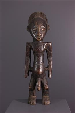 African art - Figure masculine Mangbetu Nebeli