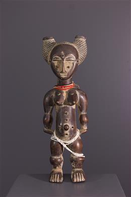 African art - Ancestor figure Attié/Akye Nkpasopi
