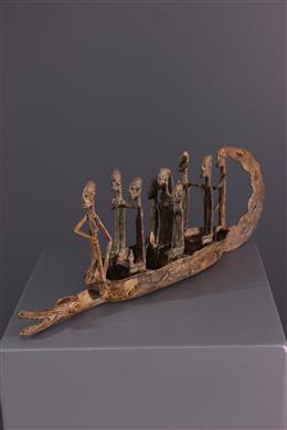 African art - Pirogue Dogon