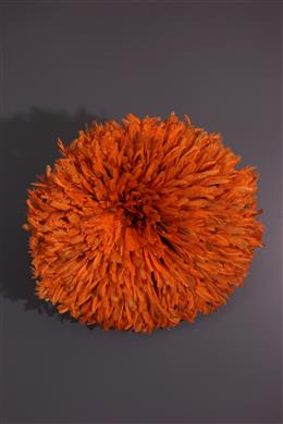 "Feathered hair Bamileke ""Juju Hat"""