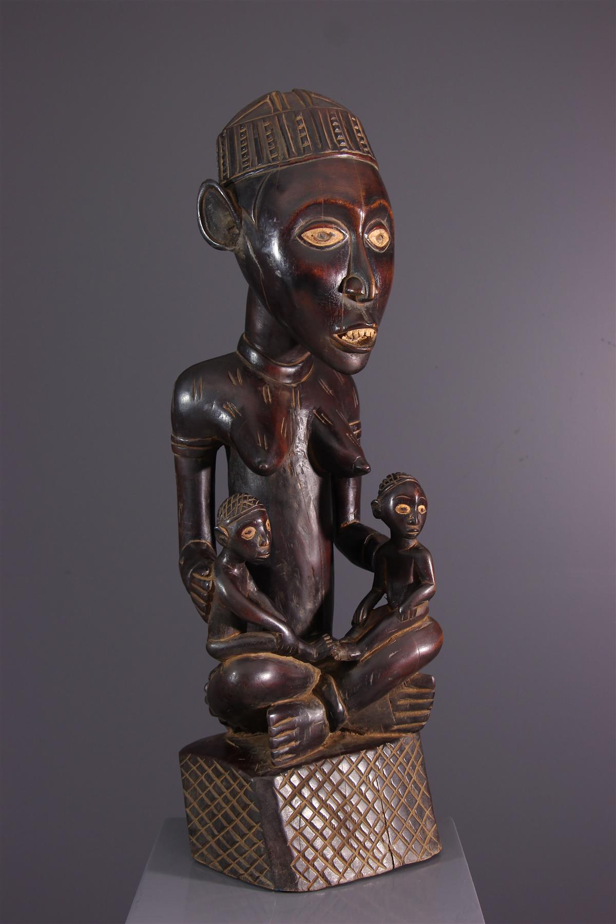 Statue Phemba - African art