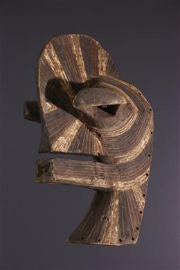 African art - Large Songye Kifwebe Mask