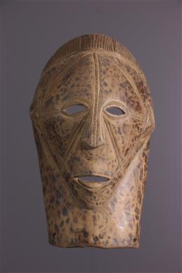 African art - Masque facial Tabwa