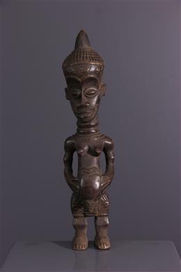 African art - Fertility statuette Lulua Buanga bua cibola