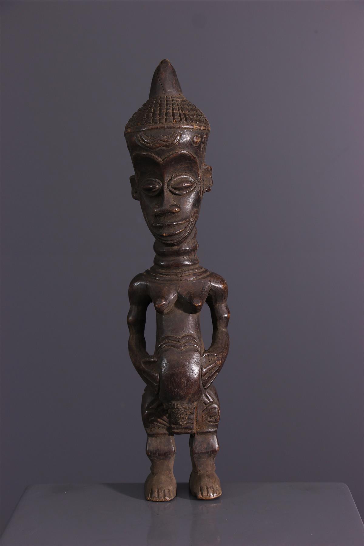 Fetish Lulua - African art