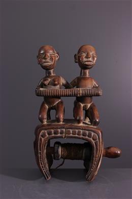 African art - Kongo loom