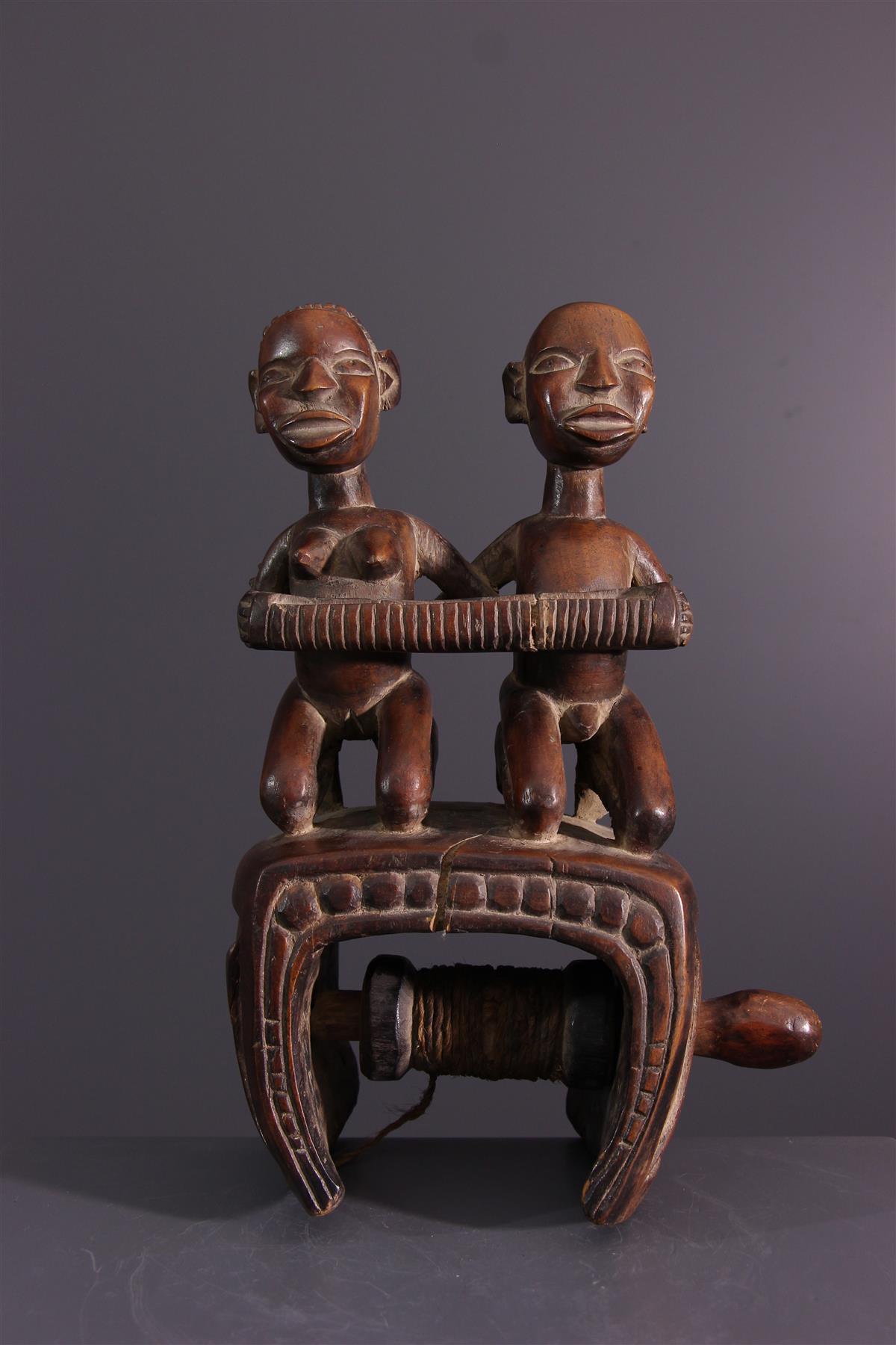 Kongo Chicken - African art