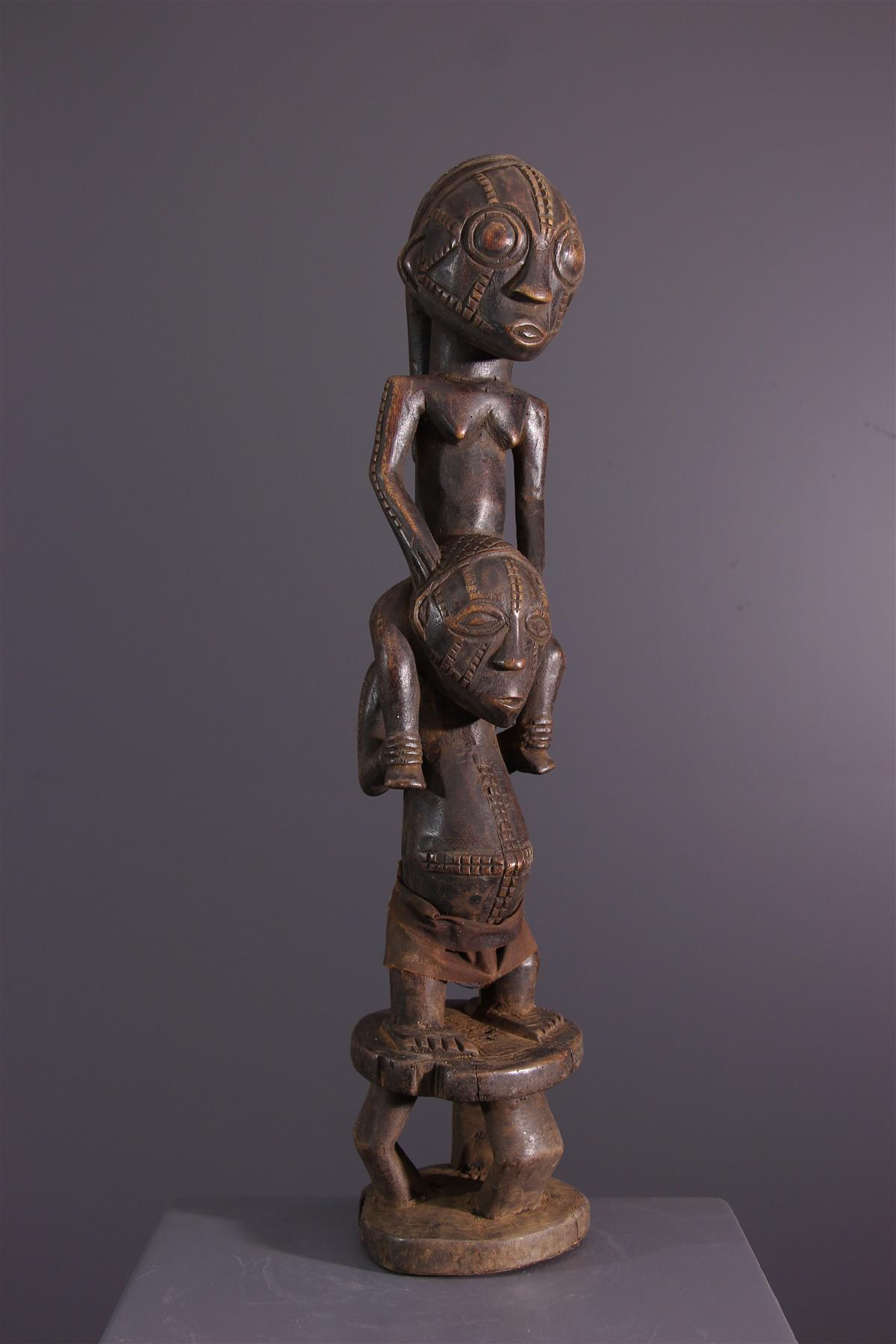 Statue Tabwa - African art